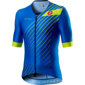 Castelli Free Speed 2 Race Top Manga Corta Hombre, drive blue